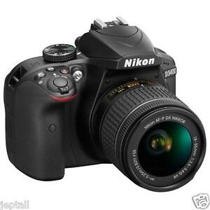 """#Cod Paypal Nikon D3400 AF-P 18-55mm 24.2mp 3"""" DSLR Digital Camera New Jeptall"""