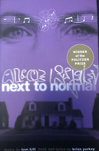 Next To Normal Script Signed By Alice Ripley