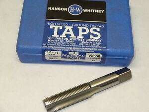 4 28550 new HSS GH Spiral NF Tap Point USA Plug 3 3FL 16 3 H3 WHITNEY HANSON fqqHt