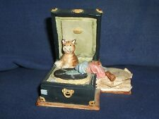 PETER FAGAN/COLOURBOX CAT GRAMOPHONE HS317