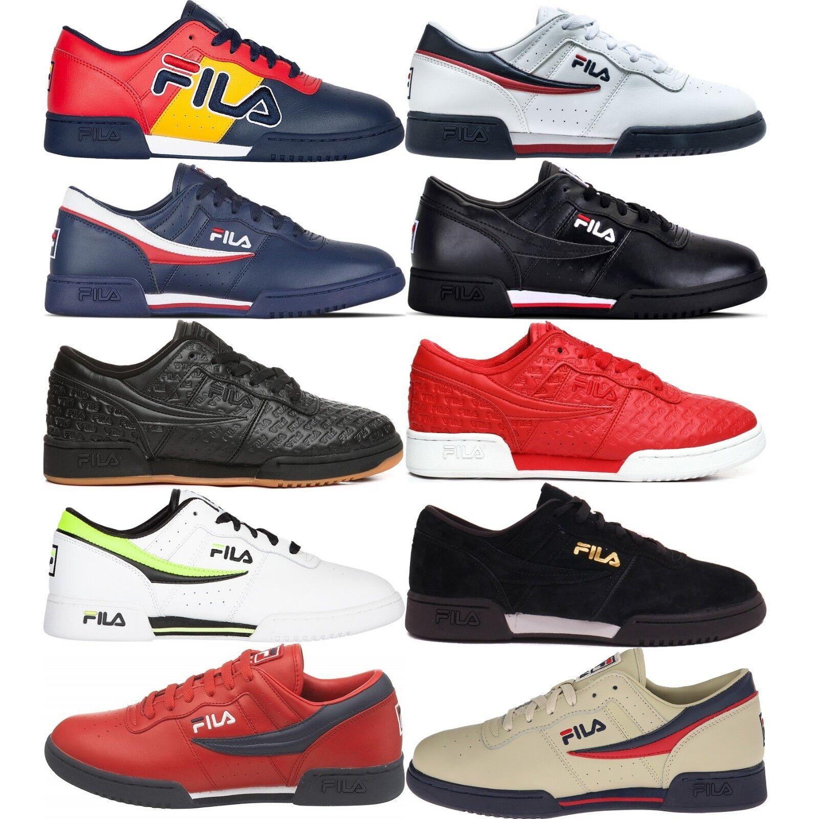 Fila Fitness para Hombres Zapatos De Entrenamiento Original cómodos tenis