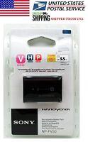 Brand Sony Np-fv50 1030mah Info Lithium V Series Handycam Genuine Battery