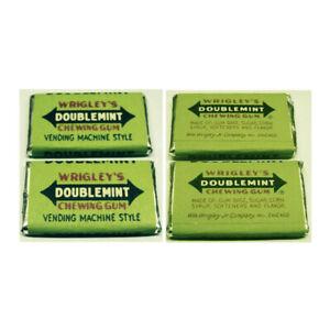 Vintage Wrigley's Doublemint Vending Machine Style Gum Tabs Scarce Mint Sealed