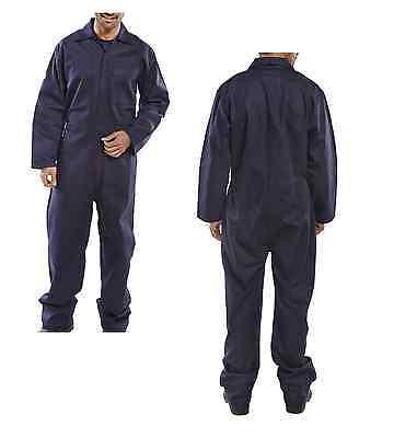 Overall 46-70 blau flammhemmend Schutzanzug Schweißeroverall Schweißerbekleidung