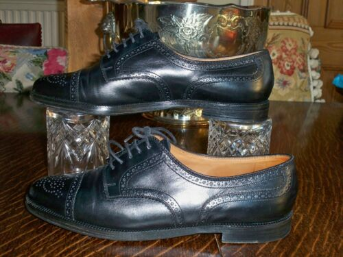 Fabriqué En Suisse Chaussures Richelieus Scribe Noires 9 Bally Uk R0Y85