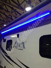 RV LED Camper Awning Boat Light Set w/IR Remote 44 key  RGB 8' 3528 Waterproof