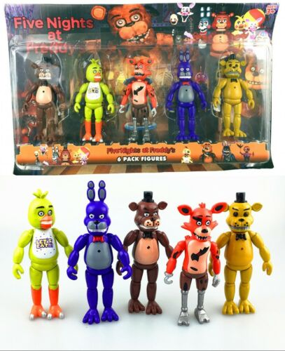 Five Nights at Freddy s Doll FNAF Action Bonnie Chica Foxy Bear