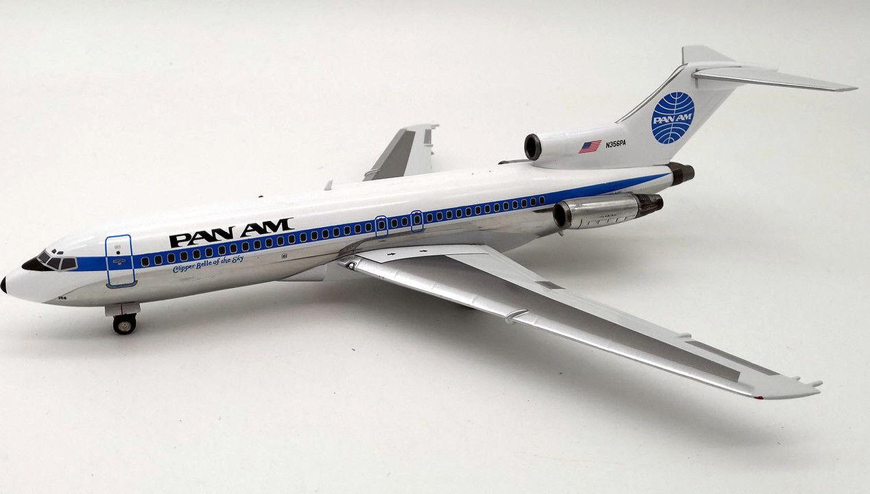 INFLIGHT 200 IF721PA01 1/200 Pan Am Boeing 727-100 N356PA con STD Ltd 120 Modelli