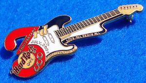 Sharm-El-Sheikh-Egitto-3RD-Anniversario-Bandiera-Colori-Guitar-Hard-Rock-Cafe-A