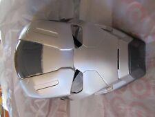 Mavel Captain America Civil War Machine Helmet Vinyl Mask New H&L Strap Grey