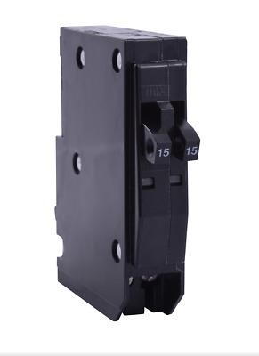 Lot of 10 SQUARE D QOT1515 15-AMP TANDEM TWIN CIRCUIT BREAKER QOT1515CP NEW