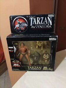 Tarzan-Il-Guerriero-Con-Cheetah-Giochi-Preziosi-Vintage