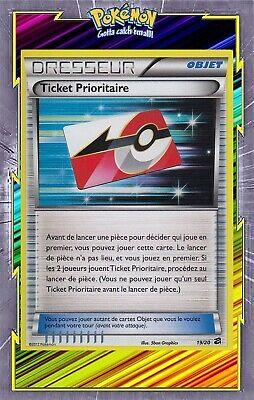 Ticket Prioritaire HOLO 19//20 Coffre des Dragons Carte Pokemon neuve fr