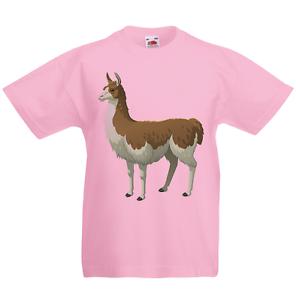 Llama Kid/'s T-Shirt Children Boys Girls Unisex Top