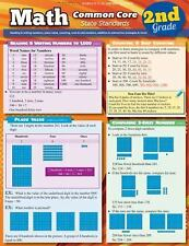 Math Common Core 2Nd Grade by Inc. BarCharts (2013, Book, Other)