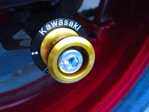 KAWASAKI Z900  2017-ONWARDS  PADDOCK STAND BOBBINS COTTON REELS SPOOL B14C