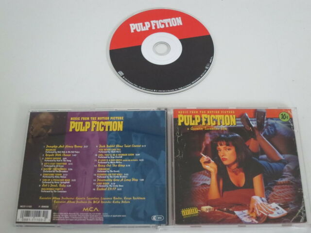 Various / Music from the Motion Picture Pulp Fiction (MCA RECORD-MCAD11103) CD