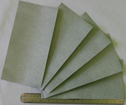 "Fish Paper CG100510-LGS Insulating FishPaper Sheets 5/"" x 10/"" Qty 5 Buy USA"