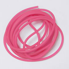 5ft Pink Glow in the Dark Rubber Cord for beads crafts jewelry