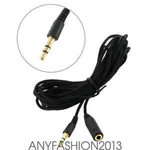 3-5mm-10ft-Audio-Aux-Cable-Male-to-Female-Stereo-Extend-M-to-F-Headset-Cord-XG3