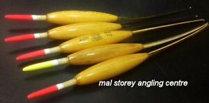 Toppers  SET//3  5AAA//3AAA//5BB RIVER Drake Floats Balsa on Crow Quill
