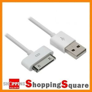 USB-Charging-Cable-for-Apple-iPhone-4-4S-3GS-3-iPod-iPad-30pin-Sync-Data