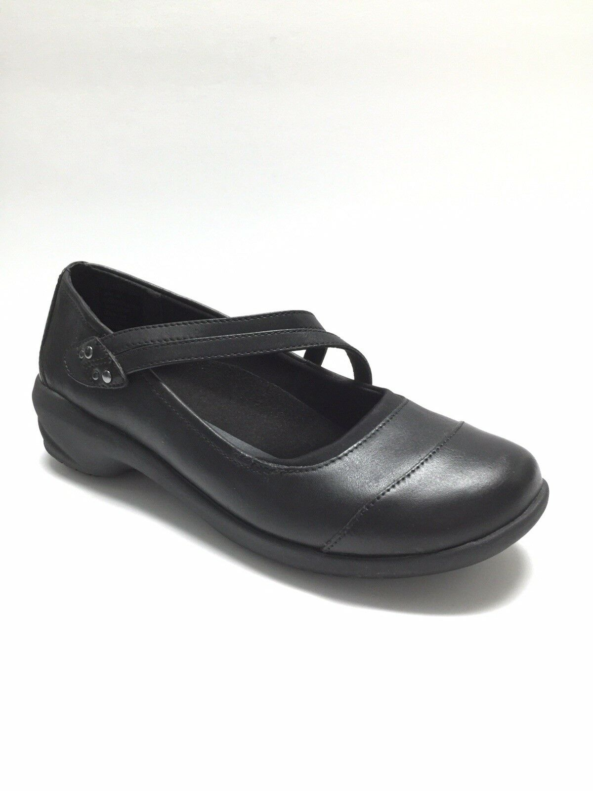 Abeo Women's Mary Janes Straps Straps Straps Slip On Loafers shoes Smartsystem Black Size 9 d7aea7