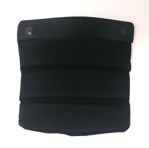 Cordura Snap In Nape Pad NAP1 for Riot Helmets Black NEW Fast Free Shipping!