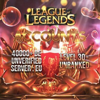 League of Legends Account EUW LOL Smurf UNVERIFIED 40K-45k ...