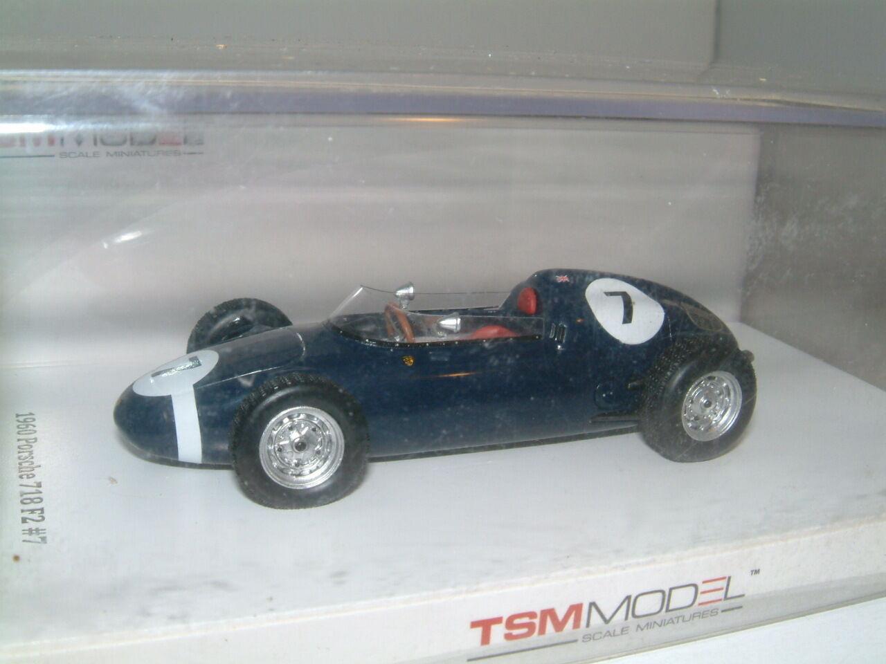 1 43 tsm porsche 718 F2  stirling moss   7 walker racing team 1960