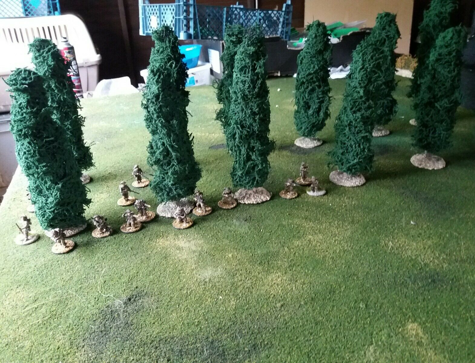 12x28mm poplar trees suitable for ww2 bolt action, ancients, napoleonic.