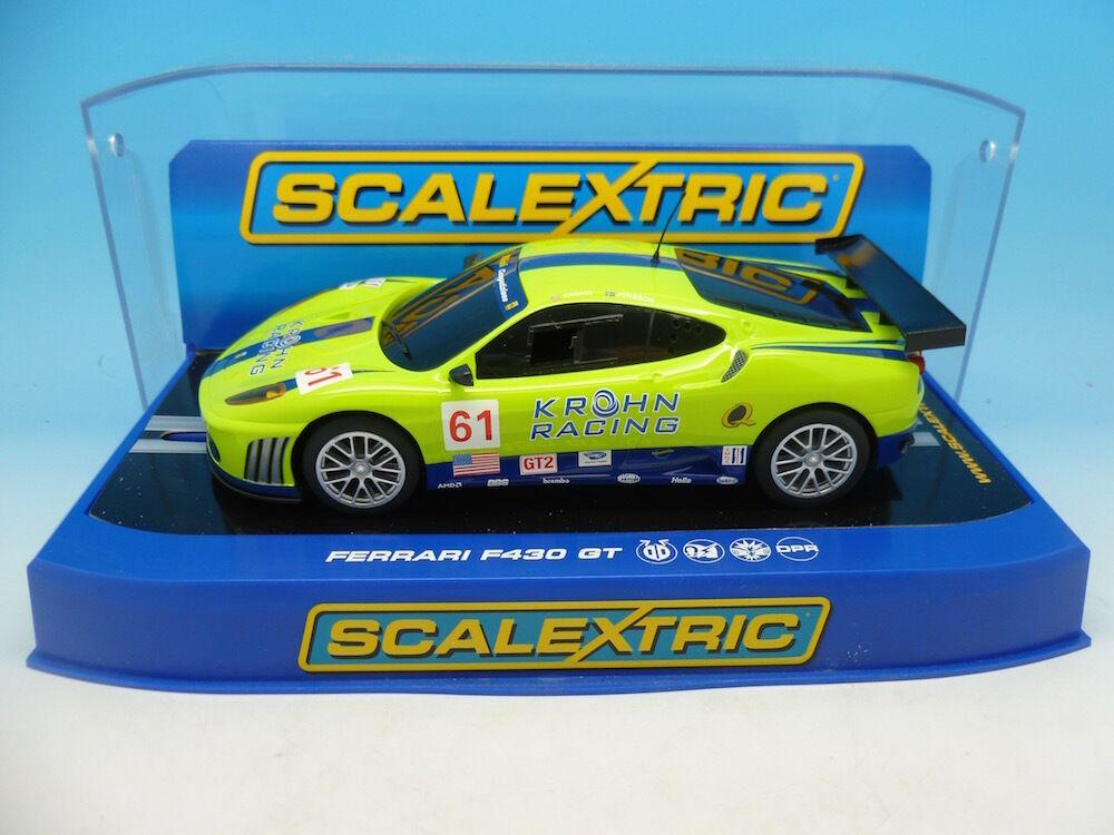Scalextric C3080 Ferrari F430 GT2 Krohn Racing