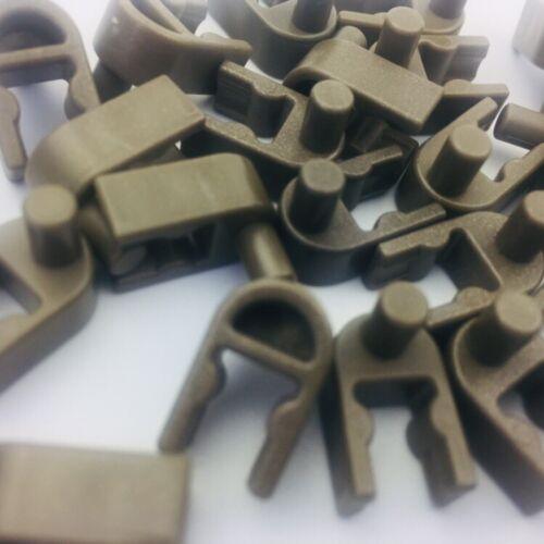 K/'nex Special Part 25 Knex Bronze Interlocking Clip Wheel End