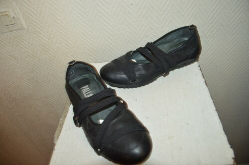 Leather Cuir zapatos scarpa Chaussure Ballerines Shoes Palladium 38 Taille xZnqXn7
