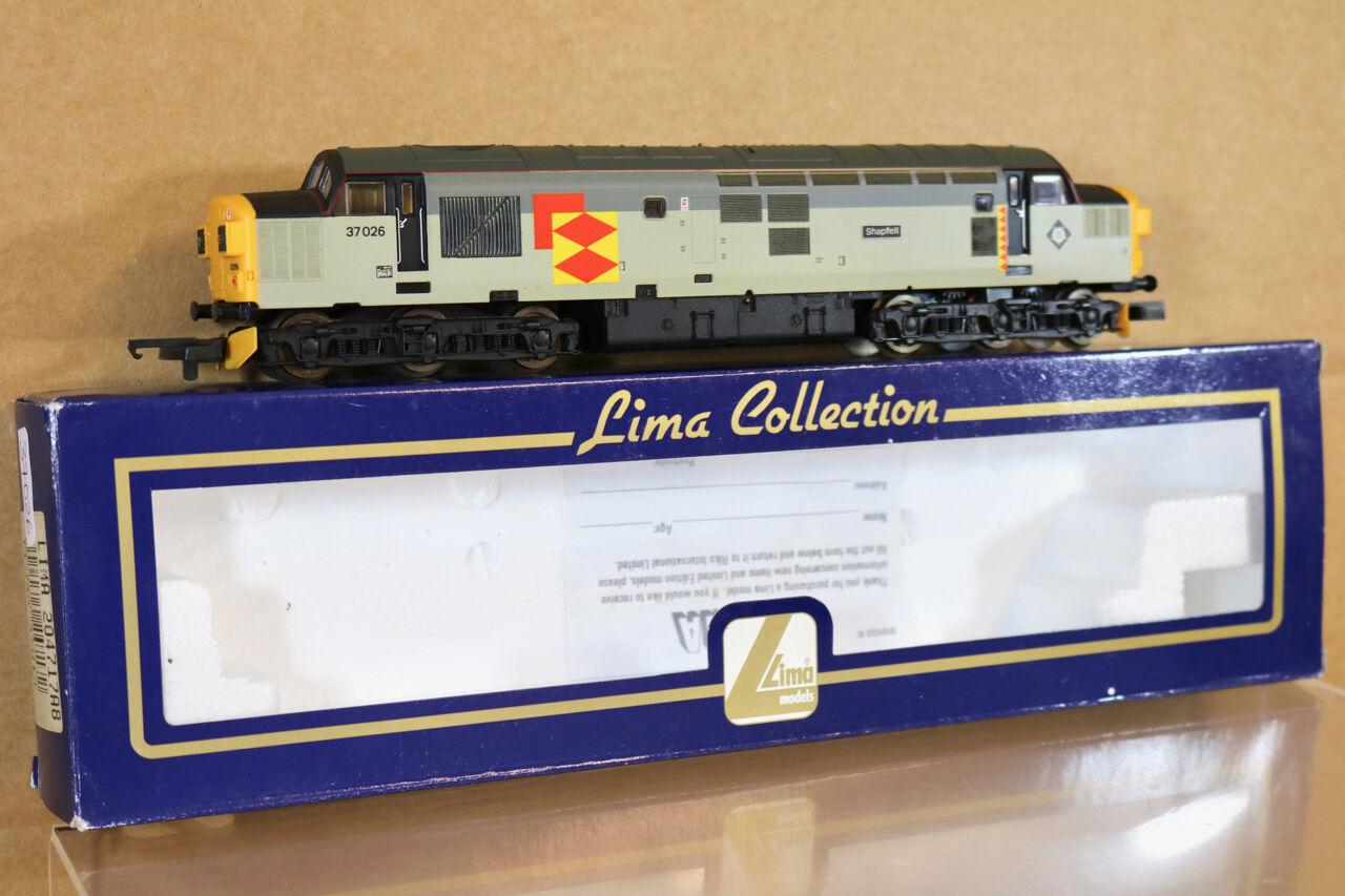 Lima 204717 Reacabados Br Clase Railfreight 37 Diesel Loco 37026 Shapfell Nj