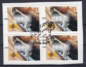 Liberal Aland Gestempelt 1998 Atm Auf Papier Minr Briefmarken 9 4 Werte Auf Papier Rohstoffe Sind Ohne EinschräNkung VerfüGbar