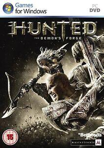 Hunted-The-Demon-039-s-Forge-Pc-Dvd-Nuevo-y-Sellado
