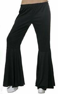 Womans Années 1960 évasée Cool Groovy Hippie Évasé Pantalon Accessoire Robe Fantaisie-afficher Le Titre D'origine DernièRe Mode