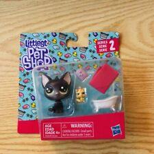 Littlest Pet Shop LPS Jade Catkin Black Cat kitten Figure Toy Gift LPS SERIES 2