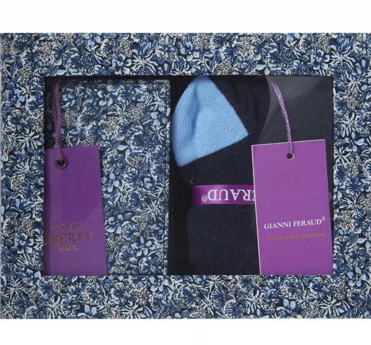 Gianni Feraud Cardholder and Sock Gift Set. Ret price 110.00