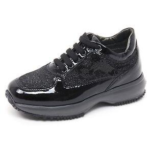 Caricamento dell immagine in corso B5546-sneaker-bimba-HOGAN-JUNIOR- INTERACTIVE-scarpa-paillettes- 23eebfaa653