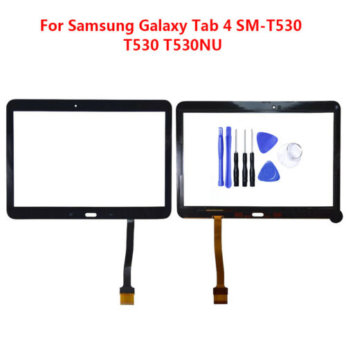 For Samsung Galaxy Tab 4 SM-T530 T530NU Tablet Touch Screen Panel Digitizer+Tool