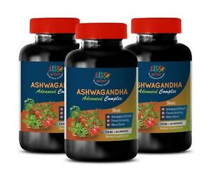 Details about ashwagandha for sleep - ASHWAGANDHA ROOT COMPLEX - combat  stress and anxiety 3B