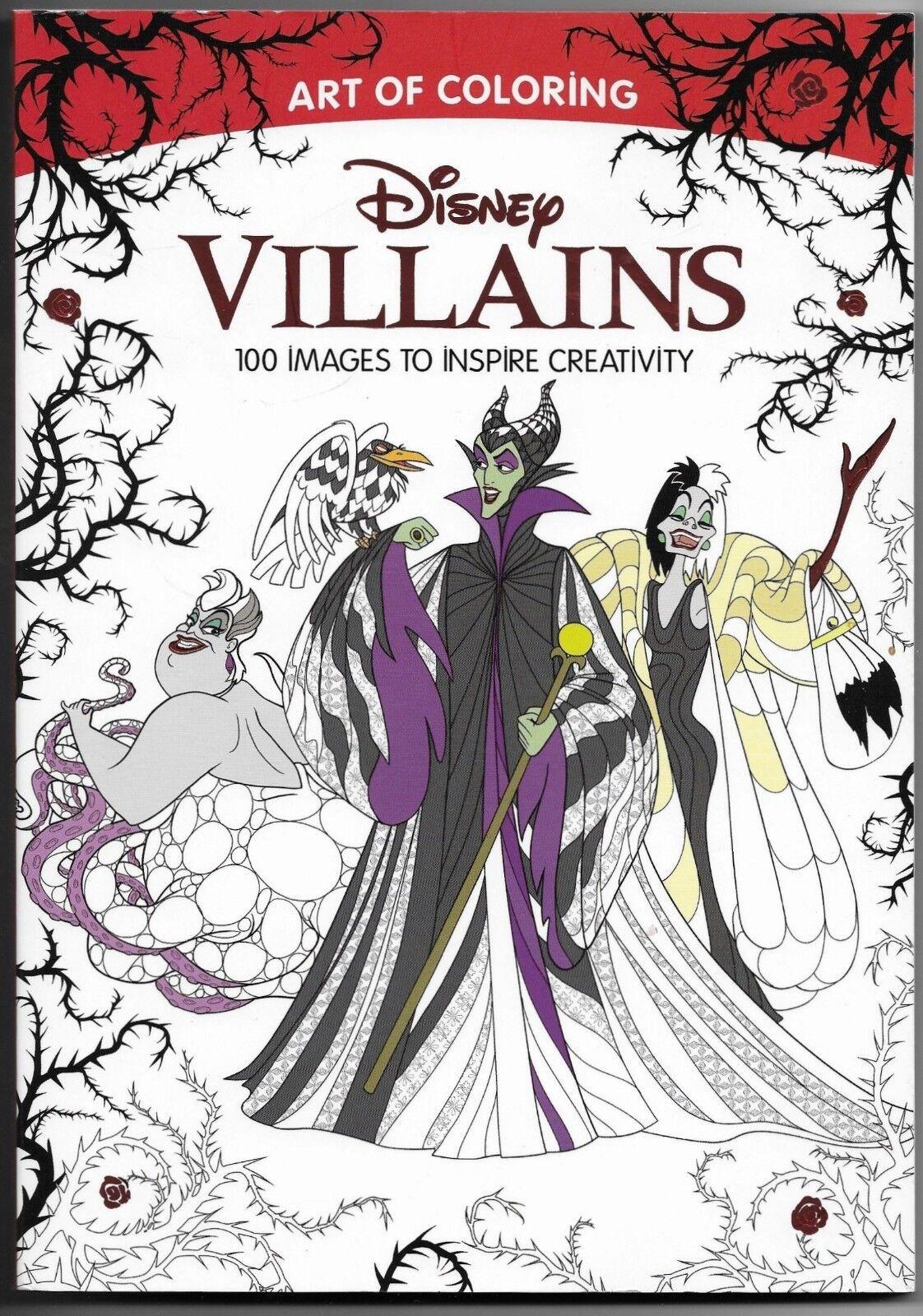 - Art Of Coloring Ser.: Art Of Coloring: Disney Villains (Walmart