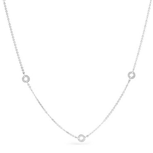 Rosato collana per charm Rosato a tre fori in argento 925 CL14