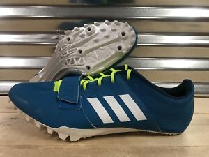 f58685766286 Image is loading Adidas-Adizero-Accelerator-Sprint-Spikes-Petrol-Blue-Green-