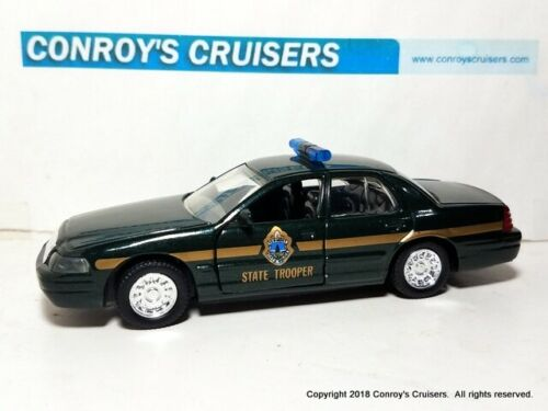 Road Champs 1//43rd scale Vermont State Police 1998 Ford Crown Victoria LOOSE