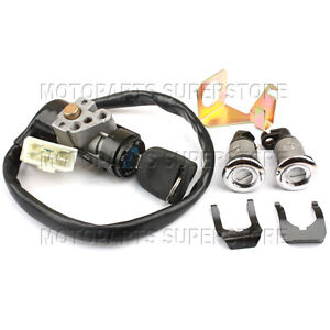 ignition switch key set 5 wires moped scooter gy6 50cc. Black Bedroom Furniture Sets. Home Design Ideas