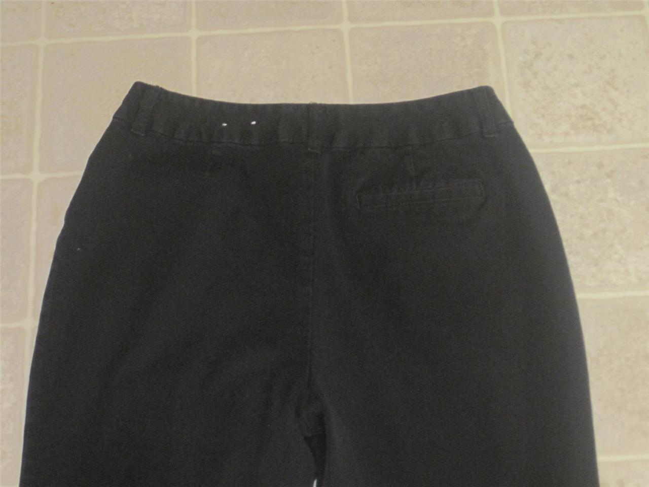 ST. JOHN'S BAY misses sz 10 black pants & CHRISTO… - image 2