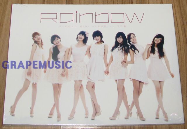 RAINBOW To Me SO女 2ND MINI ALBUM K-POP CD SEALED